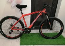 للبيع دراجة المنيوم اوبتن  موديل 2018 75وقابل للتواصل :34627744