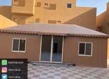 تركيب و تجهيز خيام بيوت شعر في الرياض