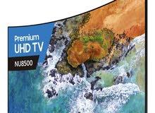 للبيع تلفزيون سامسونج 50 بوصه كيرف .