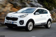 Rent a 2017 Kia Sportage with best price