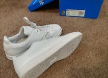 adidas stan smith triple white - ابيض