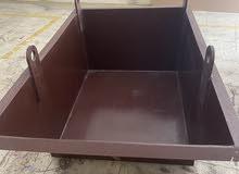 Material shifting bucket
