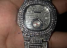iced out hip hop watch ( diamond studded )