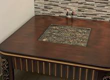 للبيع طاولة وسط كبيرة 120*120 سم ،نظيفه جدا