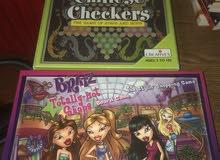 Chinese checkers and Bratz
