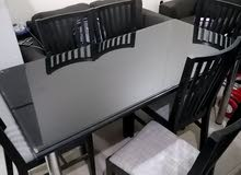 Dinning Table for sale glass top