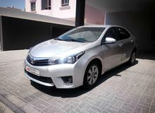 TOYOTA COROLLA 2.0 XLI 2014 MODEL FOR SALE