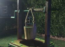بئر ديكور خشب