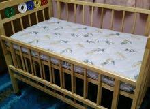 سرير اطفال يحمل وزن 30 كيلو