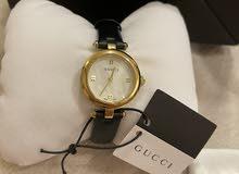 ساعة جوتشي جديدة للبيع