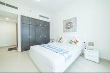 دبي سبورت سيتي غرفتين وصالة مفروشة مع بلكونة شهري شامل