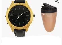New spy bluetooth watch with earpiece