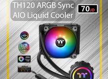 Thermaltake TH120 ARGB Sync AIO Liquid Cooler تبريد مائي / cooling
