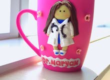 hand made decoration mug