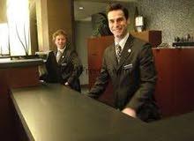 مطلوب موظف استقبال شقق فندقيه مفروشه