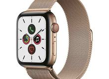 Apple Watch Series 5 GPS + Cellular 44mm Gold Stainless Steel Case with Gold Mil