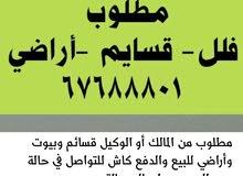 للبيع قسيمة في صباح الاحمد 600م