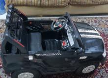 سيارة اطفال دفع رباعي استعمال 4شهور