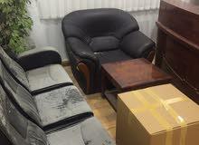 للبيع اثاث مكتبي فاخر مستعمل نظيف