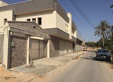 فيلا دورين شهادة عقارية مساحة 500 مسقوف 350 في شارع عشرين