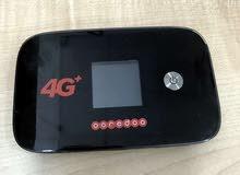 راوتر 4G+ بحاله ممتازة