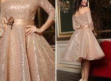فستان سهرة مقاس 42