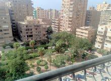 شقه سوبر لوكس عماره جديده شارع محمد المقريفى تطل على حديقه