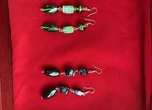 handmade earings (designs by rishu )