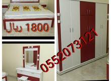 غرف نوم وطني 6 قطع مع التوصيل والتركيب 0552073121