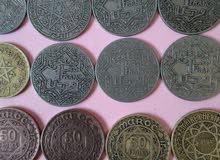 عملات نقدية نادرة وبحال حيدة للبيع