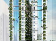 تملك شقة بأول برج صديق للبيئة بعجمان  وبالأقساط على 65 شهر