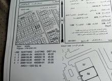 ارض صناعيه في صحار(العوهي صناعي) موقعها جدا ممتاز