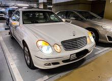 مرسيدس بنز E240 موديل 2004 بحالة نادرة