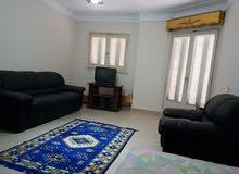 شقة مفروشة للايجار بكفر عبدو مشمسة بالكامل