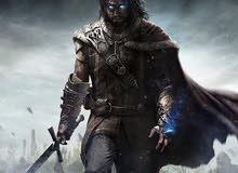 لعبة Shadow of Mordor للبيع او للبدل