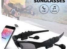 نظارات بها سماعات بلوتوث بشكل رياضي وجميل منتج مميز وبسعر منافس
