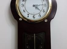ساعة حائط DEHPAO انتيك كوري تحفة الطول 80 سم خشب الطبيعى
