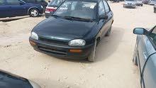 Manual Blue Mazda 1998 for sale
