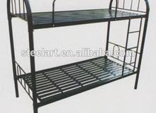 Bedroom furniture metal double bunk bed,double decker bunk beds