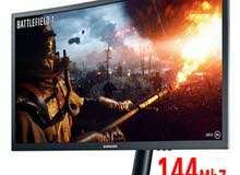 """Samsung 24"""" CFG70 144MHz 1ms Curved Gaming Monitor"""