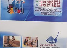 we are providing cleaning services in Bahrain per hour to BD with transport