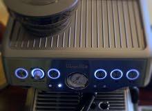 مكينة قهوة بريفل ( بريفلي ) breville barista express coffee machine