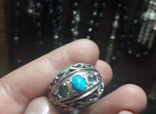 خاتم ملوكي 5 أحجار صياغه إيراني