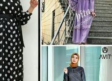 فستان وجلباب للبيع