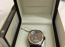 luxury watch  ARMAND NICOLET  with 18 kt rose  gold for sale
