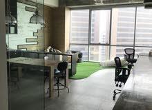 مكتب للبيع في مكان استراتيجي في العاصمة، برج دروازه 51 امام مجمع البنوك