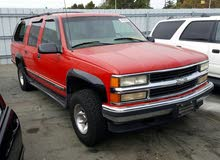 Gasoline Fuel/Power   Chevrolet Suburban 1999
