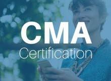 تدريس مادة ال CMA