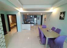 للايجار شقة مفروشة بالكامل من غرفتين في جزر امواج!