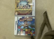 2 Nintendo Ds and 3DS games for sale للبيع لعبتين نينتندو